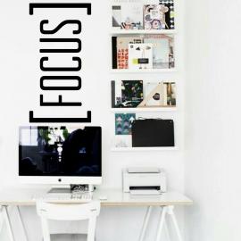 Focus (55 x 105) Vinyl Wall Art