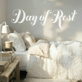 Day of Rest (40 x 120cm) Vinyl Wall Art