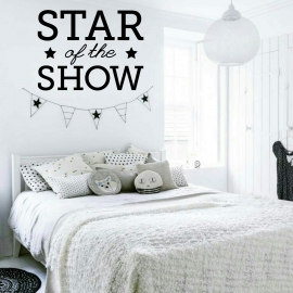 Star of the show (60 x 80cm) Vinyl Wall Art