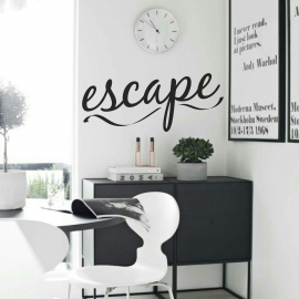 Escape (30 x 70cm) Vinyl Wall Art