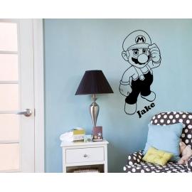 Mario - Super Mario Brothers (57cm x 120cm)  Vinyl Wall Art