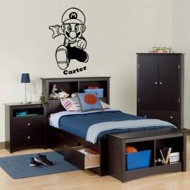 Mario - Super Mario Brothers (58cm x 98cm)  Vinyl Wall Art