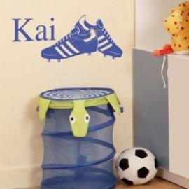 Soccer Boots (22cm x 50cm)  Vinyl Wall Art
