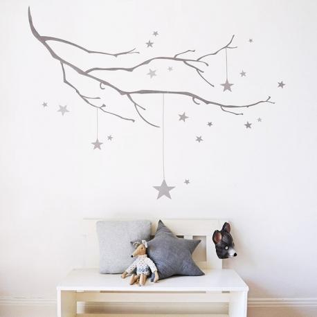 Starry Branch (60 x 120cm)  Vinyl Wall Art
