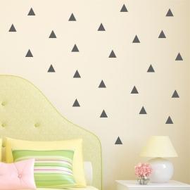 Set of 96 Triangles (50cm x 60cm)  Vinyl Wall Art