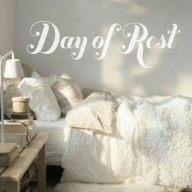 Day of Rest (40 x 120cm) Vinyl Wall Art