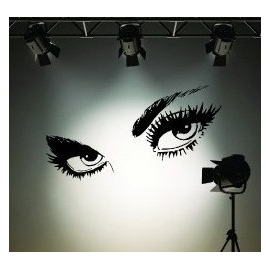 Sexy Eyes Vinyl Wall Art