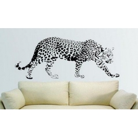 African Animal - Leopard Vinyl Wall Art