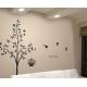 "Tree ""Love's Secret"" with Birdcage Vinyl Wall Art"