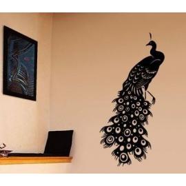 Peacock Vinyl Wall Art