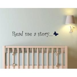 """""""Read me a Story"""" Vinyl Wall Art"""