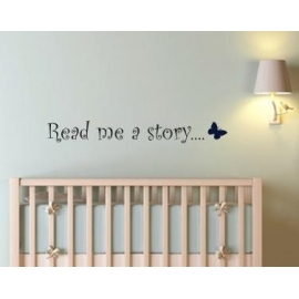 """Read me a Story"" Vinyl Wall Art"