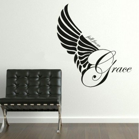 """Fall from Grace"" Vinyl Wall Art"
